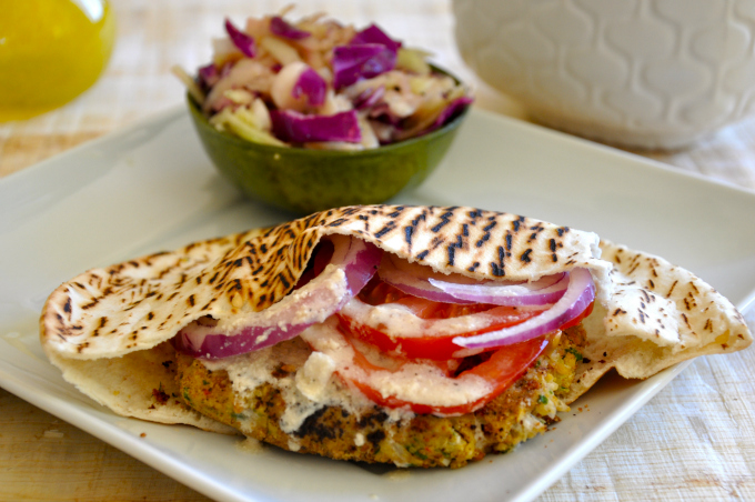 Spicy BBQ Chickpea Burgers & Lightened-Up Crispy Baked ...