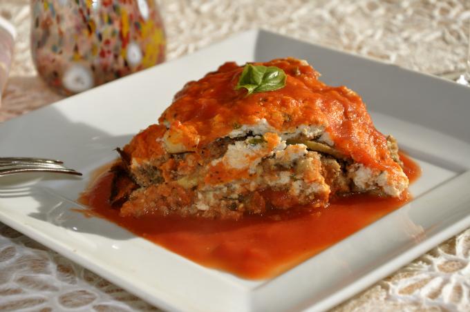 eggplant parmigana