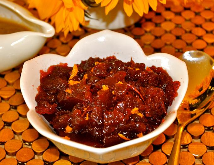 cranberry sauce 680