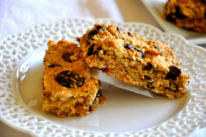 Cherry Dark Chocolate Granola Bars