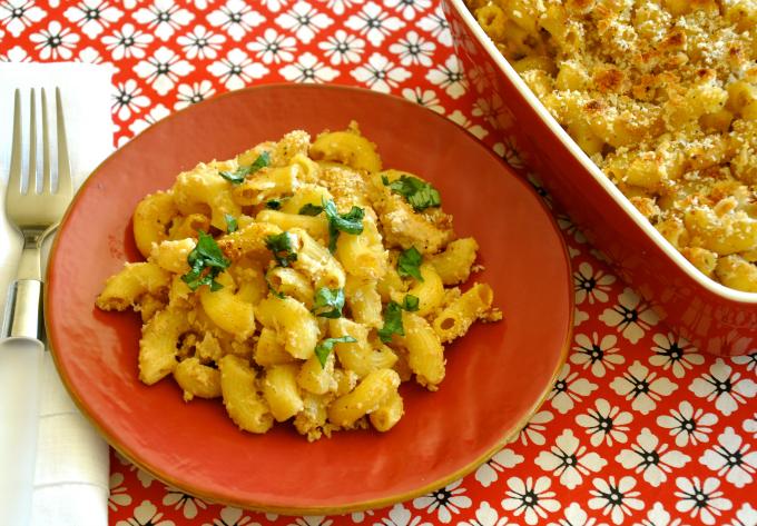 Vegan Mac & Cheese with Cauliflower Béchamel