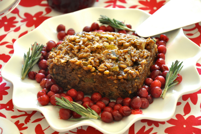 Holiday Farro Loaf