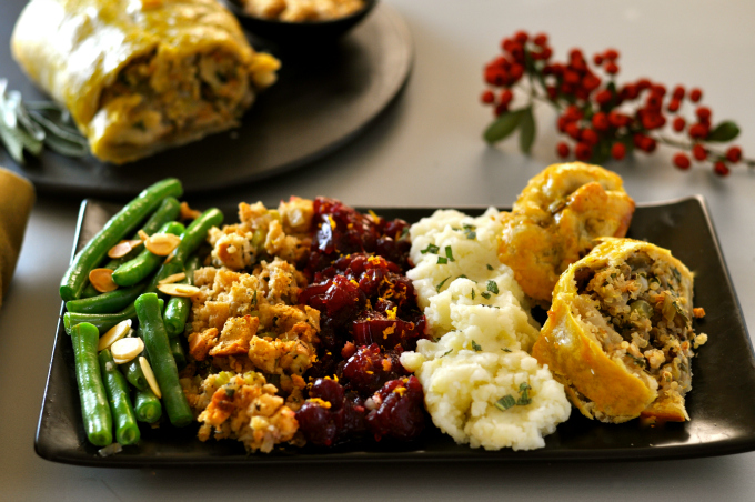 Spoil your vegan friends and family with this rich and savory vegan roast wellington.
