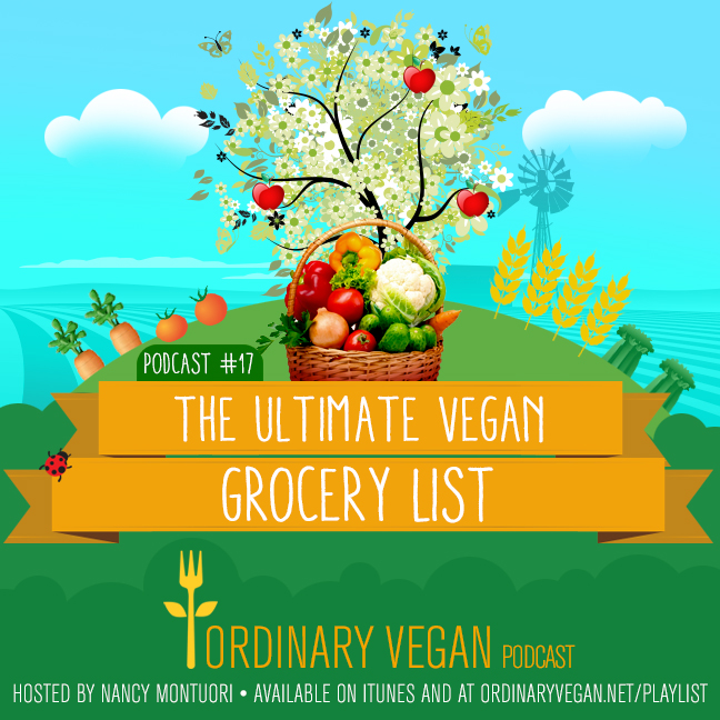 The ultimate vegan grocery list