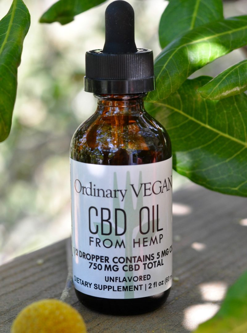 Plant-based CBD Oil Drops made from hemp are seed to table, third-party tested, gluten-free, non-GMO, full spectrum, vegan and the most consistency pure CBD product in the industry. Brought to you by one of the most trusted voices in the plant-based world. (#vegan) ordinaryvegan