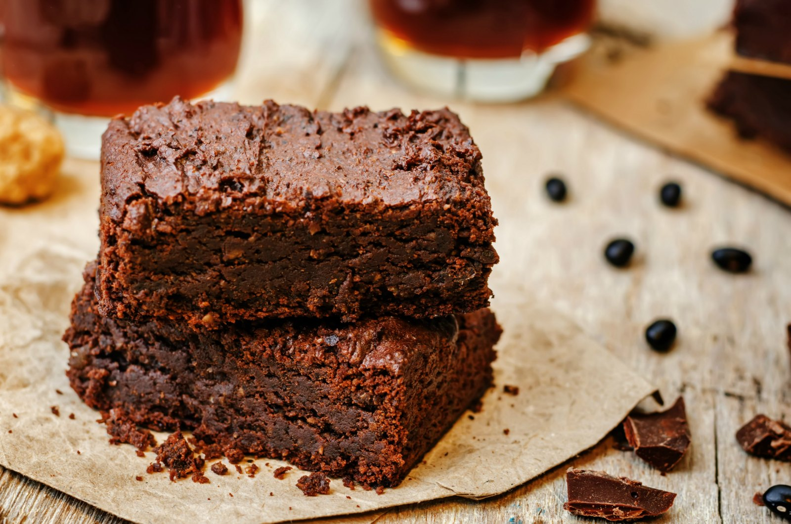 Healthy Vegan Brownies Fudgy Oil Free Gluten Free