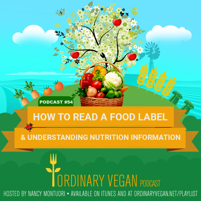 Podcast #54 – How To Read A Food Label & Understanding Nutrition Facts
