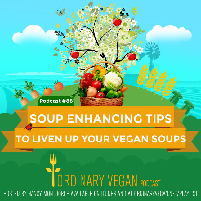 Hearty vegan soups are the ultimate comfort food. Easy to make and full of healthy nutrients. Learn how to create and liven up all your vegan soups. (#vegan) ordinaryvegan.net