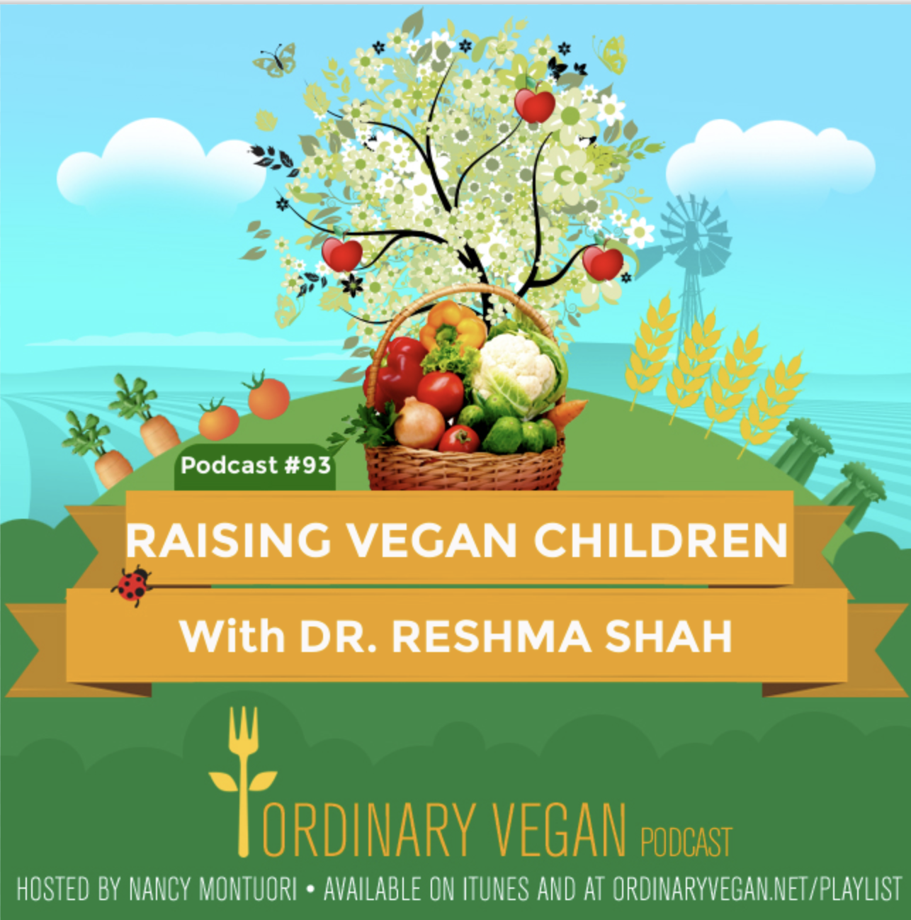 This podcast answers many of the common questions that often worry parents about raising vegan children. (#vegan) ordinaryvegan.net
