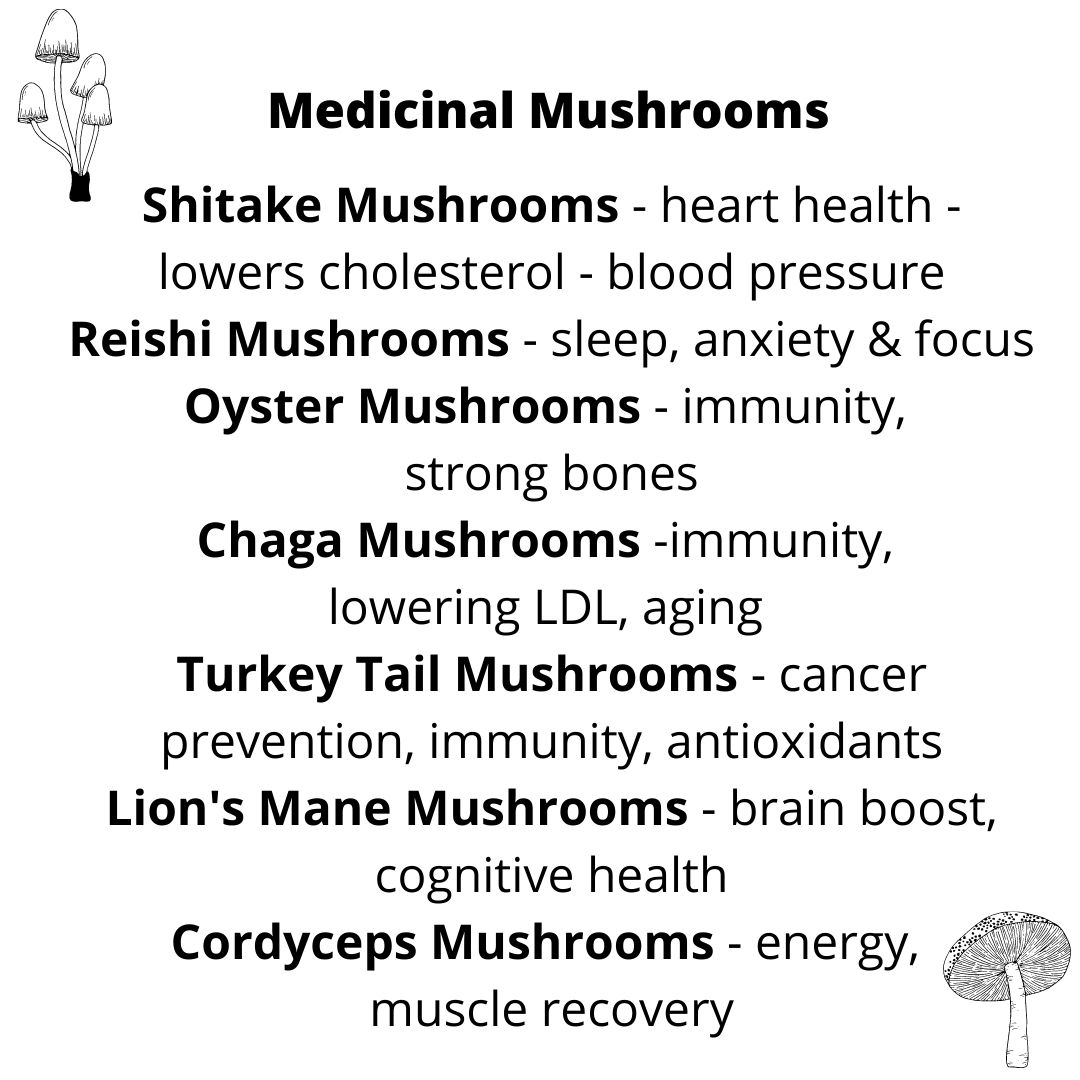 Mushrooms are one of the hottest wellness trends of 2021. From weight management to cognitive health, the mushrooms' health benefits are abundant. #vegan) ordinaryvegan.net